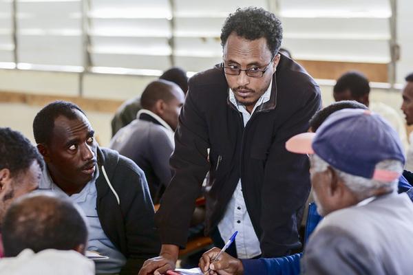 Asmara Community College of Education (ACCE), Teacher Ahmanuel Yosief.
